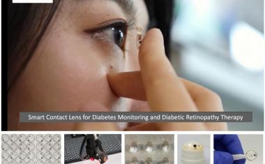 Smart contact lenses diagnose and treat diabetes