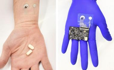 Wearable sensor tracks Vitamin C levels in sweat