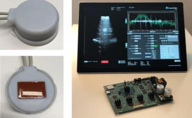 Ultrasonic sensors for postoperative bladder monitoring
