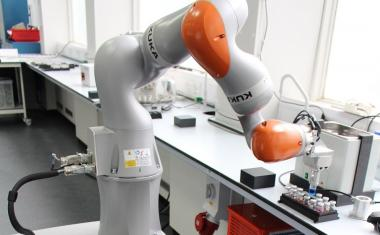 Your new lab partner: the robot scientist