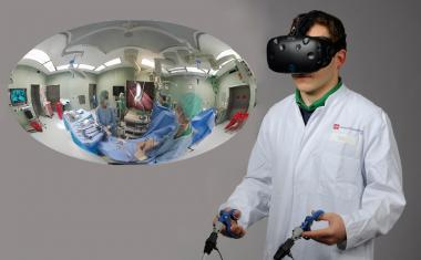 Augmented Reality in the OR: matching man and machine