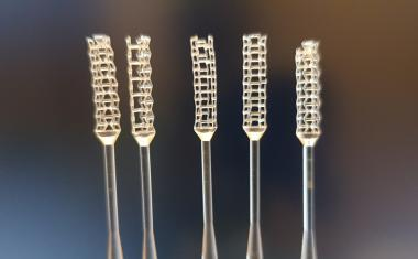 3D printed smart swabs for COVID-19 testing