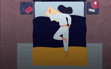 Monitoring sleep positions for a healthy rest