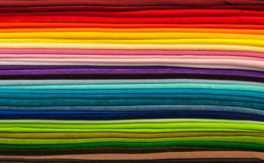Magic fibers: 'smart fabrics' can change color