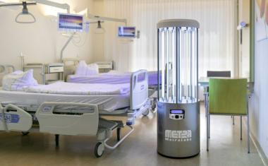 7 mobile disinfection robots for medical environments