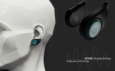 Sense Glucose Earring for managing diabetes