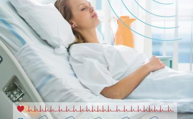 Decentralized patient monitoring: Sensors quickly detect changes in vital signs