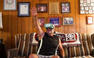 VR helps seniors to re-engage with the world