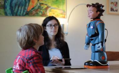 Robots benefit special education students