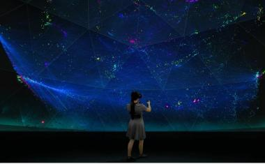 Molecular networks: VR visualization supports research