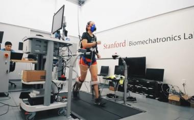 Ankle exoskeleton increase walking speed