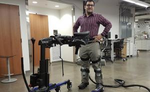 Bionic exoskeleton could help people walk again