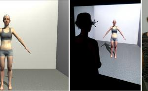 Anorexia nervosa: Body perception in virtual reality