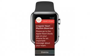Update Apple Heart Study: Wearables can detect aFib