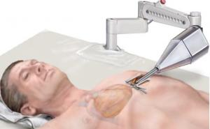 Robotic catheter navigates autonomous inside body