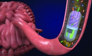 3D printed pill samples gut microbiome to aid diagnosis