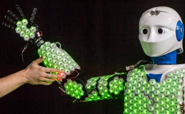Artificial skin improves sensory ability of robots
