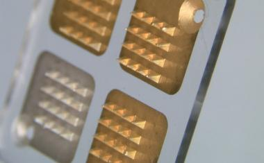 Microneedle biosensors detect patient antibiotic levels