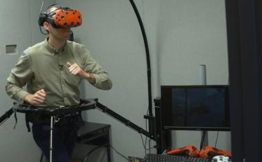 Brain may not need body movements to learn virtual spaces