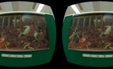 Is virtual reality not suited to visual memory?