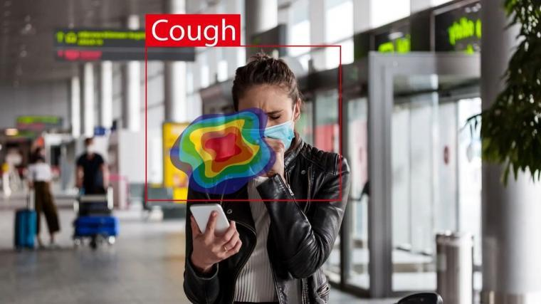 Deep learning-based cough recognition model helps detect the location of...