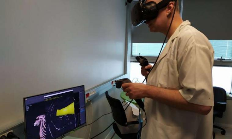 VR & 3D printing used to prepare for lung-operation