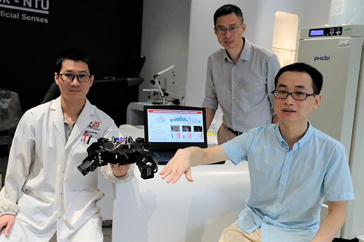 NTU Singapore scientists have developed an Artificial Intelligence system for...